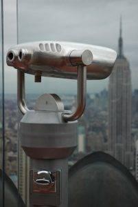 vista del empire state building desde el mirador TOR