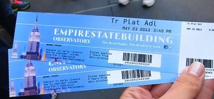 entradas para el Empire State Building