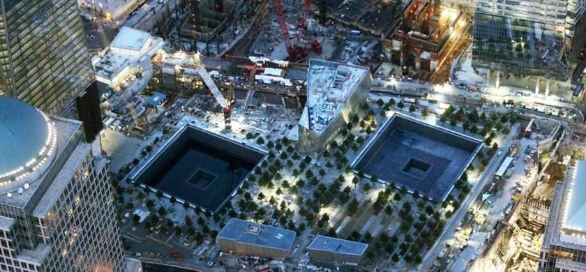 La torre One World Trade Center en construcción